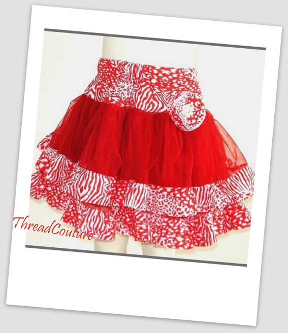 Tulle Tutu Skirt, Pettiskirt, Girls Sewing Pattern , Pattern Pdf